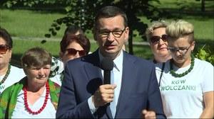 Premier Mateusz Morawiecki rusza w trasę po Polsce, będzie promował Polski Ład. Na początek lubelskie i podkarpackie