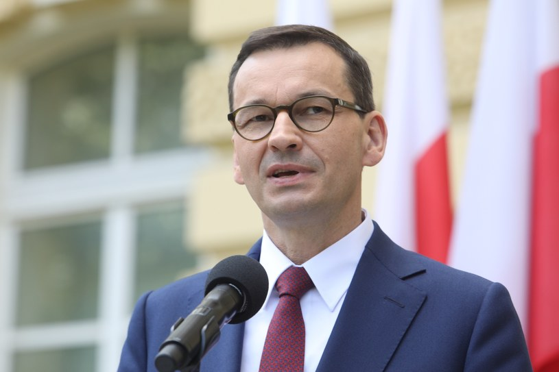Premier Mateusz Morawiecki skomentował sytuację na pl. Solidarności /Tomasz Jastrzebowski/REPORTER /Reporter