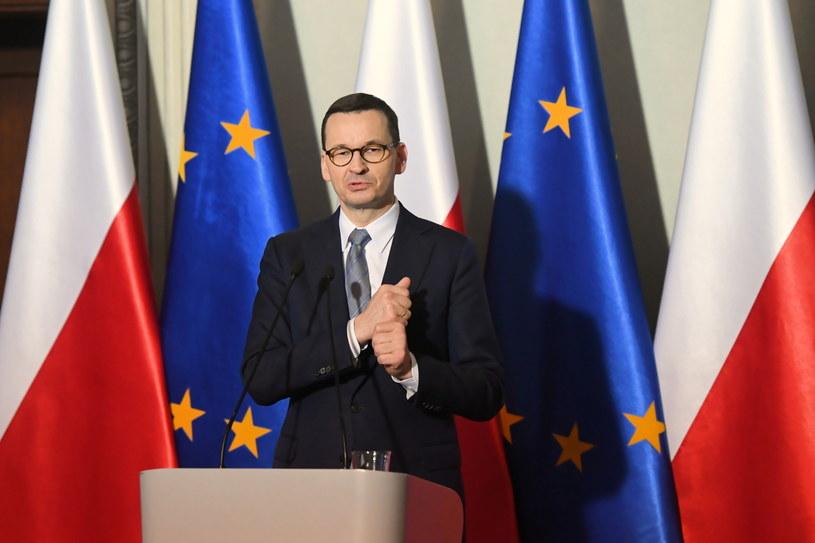 Premier Mateusz Morawiecki spotkał się z przedstawicielami opozycji ws. koronawirusa /Jacek Bednarczyk   /PAP