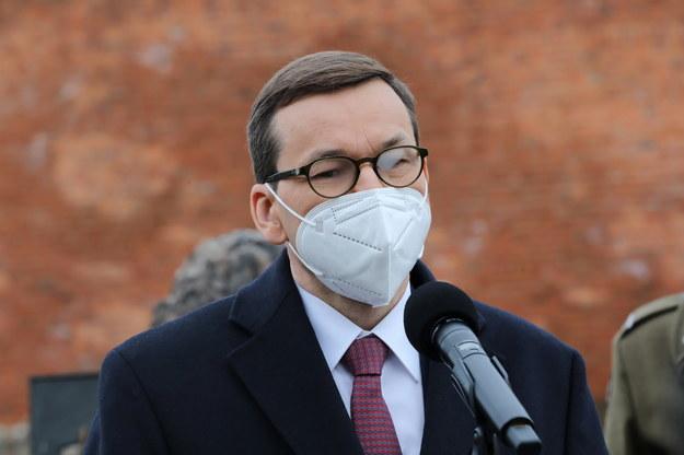 Premier Mateusz Morawiecki twierdzi, że Polska wkrótce osiągnie odporność zbiorową /Wojciech Olkuśnik /PAP