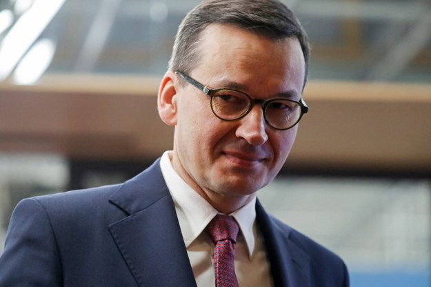 Premier Mateusz Morawiecki w Brukseli /LUDOVIC MARIN /PAP/EPA