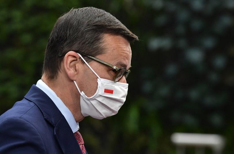 Premier Mateusz Morawiecki w Brukseli /JOHN THYS / POOL /PAP/EPA