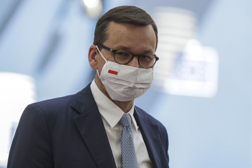 Premier Mateusz Morawiecki w Brukseli /STEPHANIE LECOCQ  /PAP/EPA
