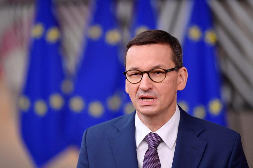 Premier Mateusz Morawiecki w Brukseli /Reuters /Agencja FORUM