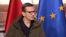 """Premier Mateusz Morawiecki w """"Gościu Wydarzeń"""": Jesteśmy przedmiotem ataku hybrydowego"""
