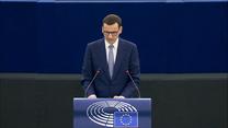 Premier Mateusz Morawiecki w Parlamencie Europejskim