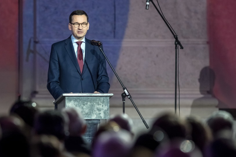 Premier Mateusz Morawiecki w Pradze /Martin Divisek /PAP/EPA