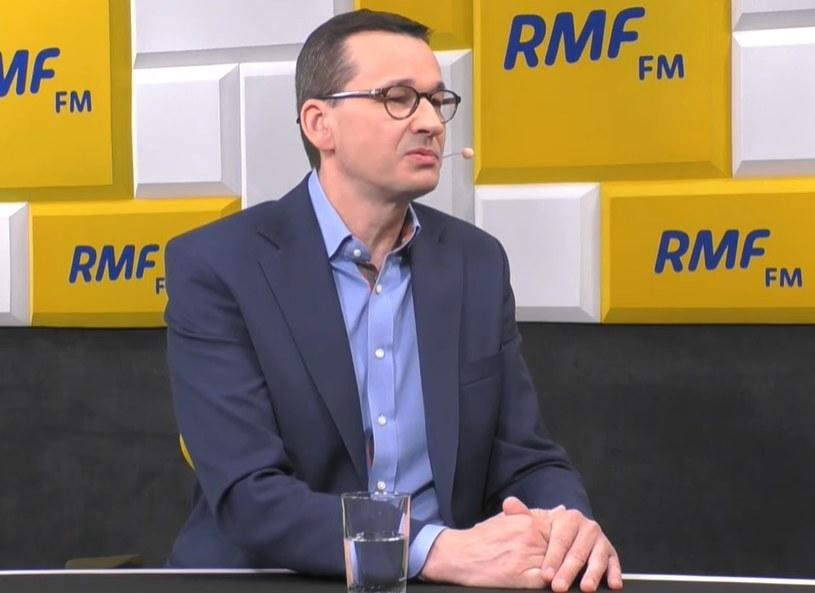 Premier Mateusz Morawiecki w RMF FM /RMF