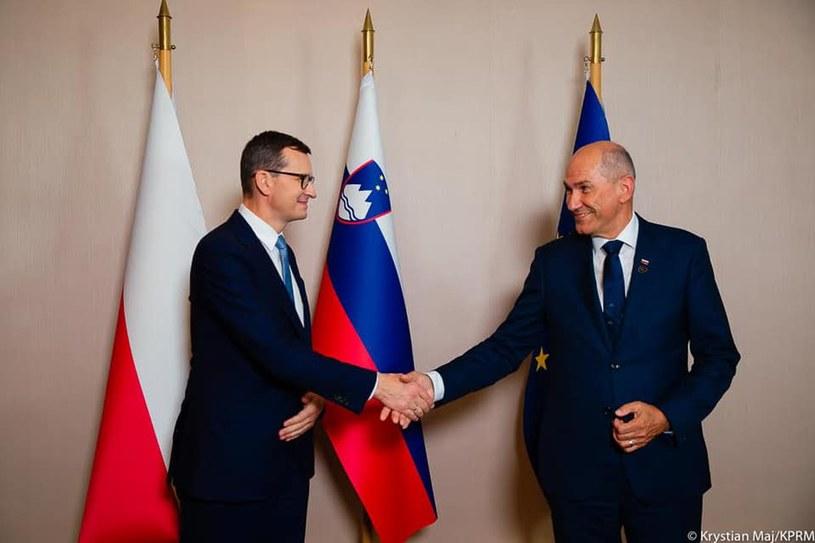 Premier Mateusz Morawiecki z wizytą na Słowenii /Krystian Maj/KPRM /