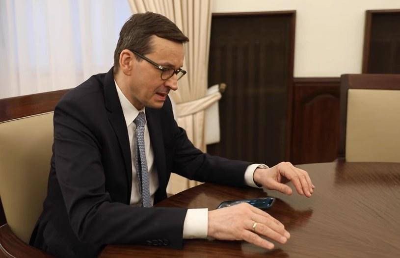 Premier Mateusz Morawiecki zarejestrował się na szczepienie /facebook.com