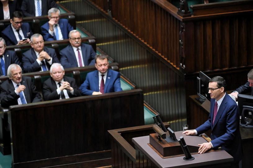 Premier Mateusz Morawiecki złożył dymisję rządu / Radek Pietruszka   /PAP