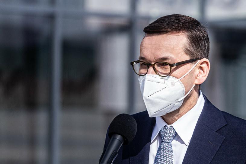 Premier Mateusz Morawiecki zwrócił się z apelem do Polaków /Krzysztof Kaniewski/REPORTER /Reporter