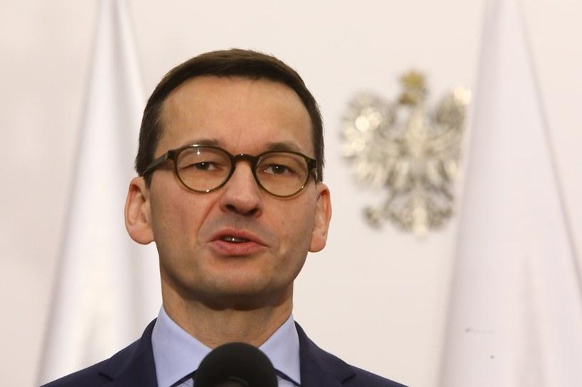 Premier Mateusz Morawiecki /STANISLAW KOWALCZUK /East News
