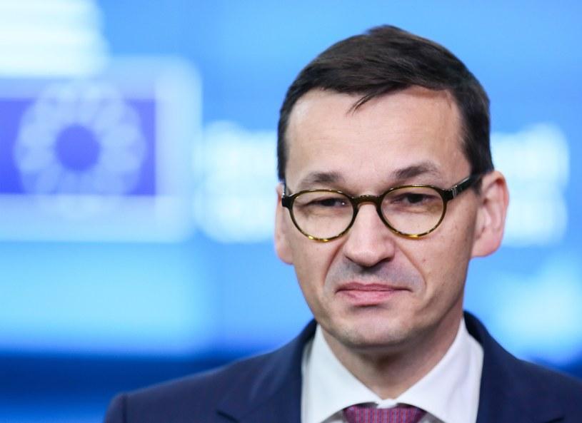 Premier Mateusz Morawiecki /PAP/EPA