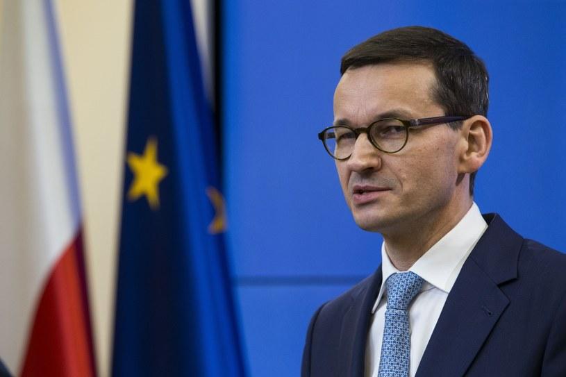 Premier Mateusz Morawiecki /Łukasz Kobus /Agencja FORUM