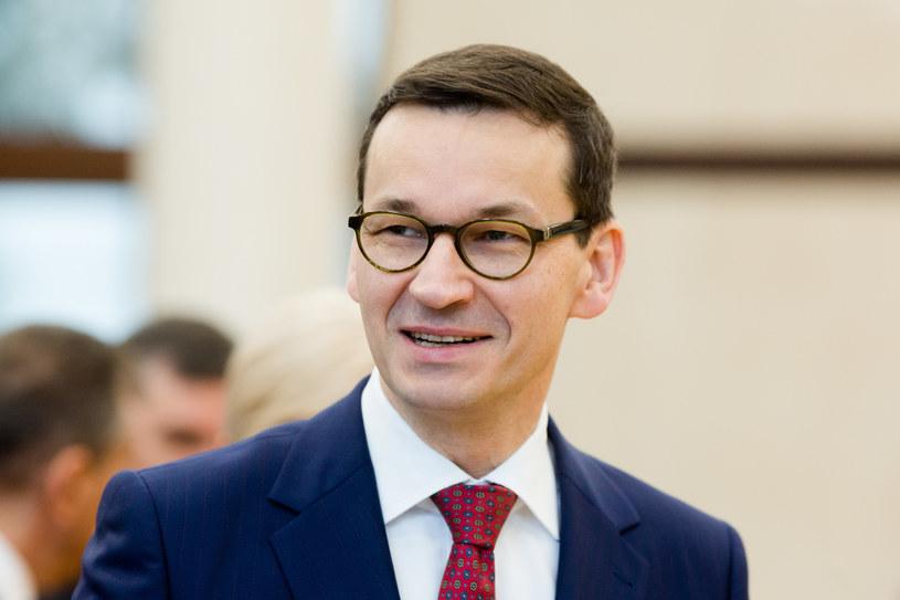 Premier Mateusz Morawiecki /Adam Guz /East News