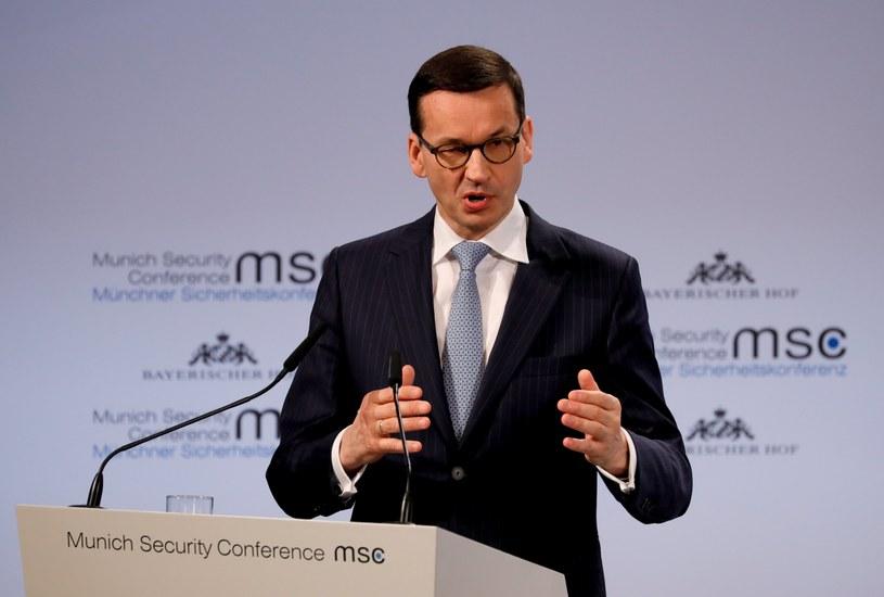 Premier Mateusz Morawiecki /RONALD WITTEK /PAP/EPA
