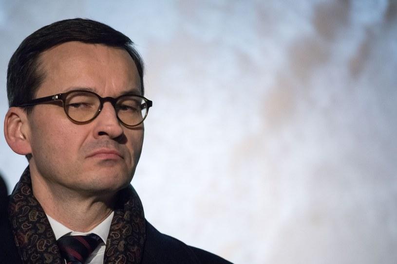 Premier Mateusz Morawiecki /Pawel Wisniewski /East News