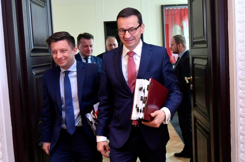 Premier Mateusz Morawiecki /Bartłomiej  Zborowski /PAP