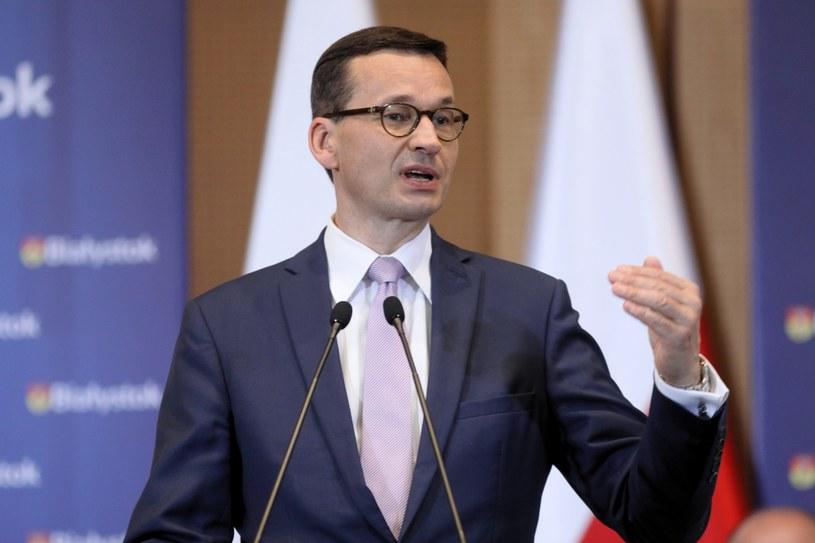 Premier Mateusz Morawiecki /Artur Reszko /PAP