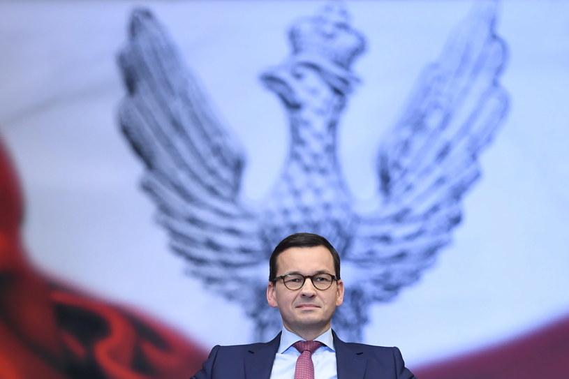 Premier Mateusz Morawiecki /Grzegorz Michałowski   /PAP