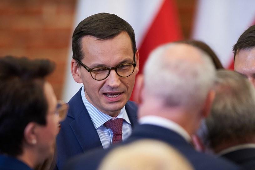 Premier Mateusz Morawiecki /Lukasz Szelag /Reporter
