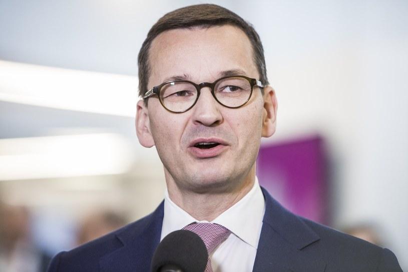 Premier Mateusz Morawiecki /Grzegorz Bukala /Reporter