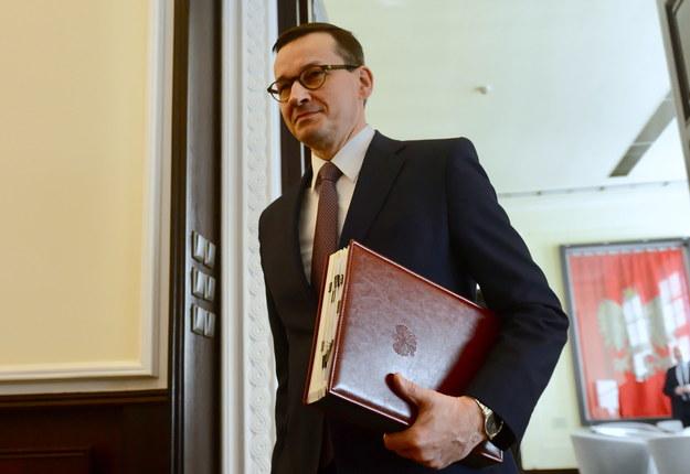 Premier Mateusz Morawiecki / Jakub Kamiński    /PAP