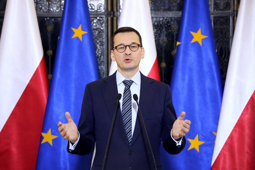 Premier Mateusz Morawiecki /Piotr Molecki /East News