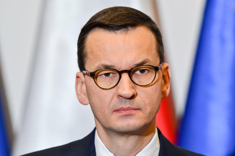 Premier Mateusz Morawiecki /Jacek Domiński /Reporter