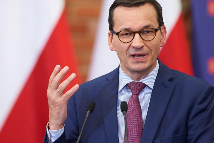 Premier Mateusz Morawiecki /Łukasz Szeląg /Reporter