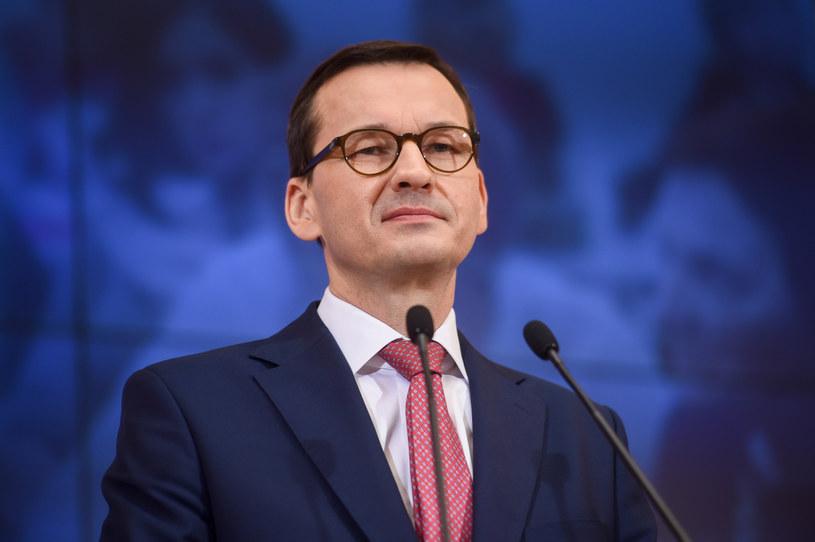 Premier Mateusz Morawiecki /Zbyszek Kaczmarek/REPORTER /Agencja SE/East News
