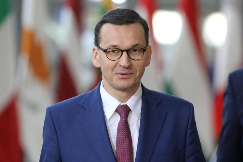 Premier Mateusz Morawiecki /LUDOVIC MARIN /East News