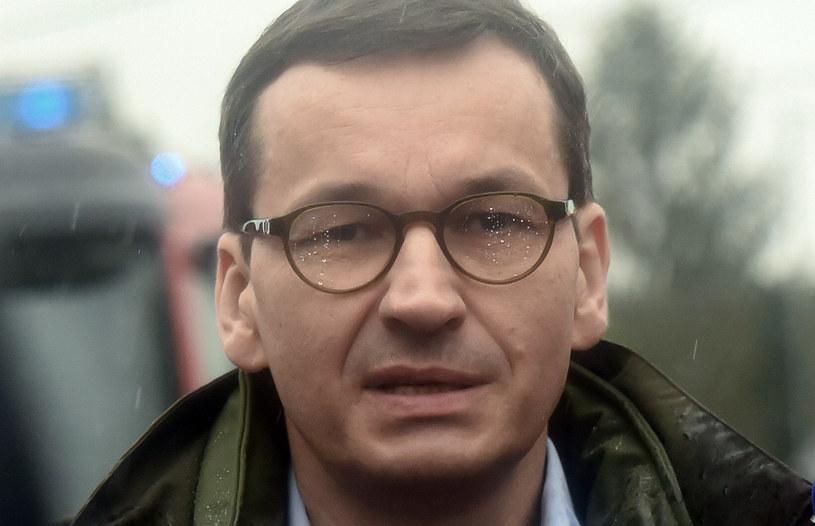 Premier Mateusz Morawiecki /Fot. Marek Lasyk/REPORTER /Reporter