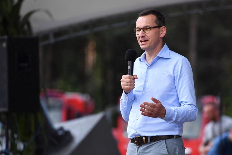 Premier Mateusz Morawiecki /Marcin Gadomski /PAP