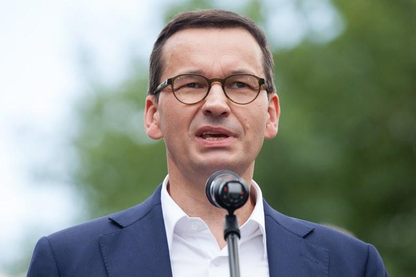 Premier Mateusz Morawiecki / fot. Stefan Maszewski /Reporter