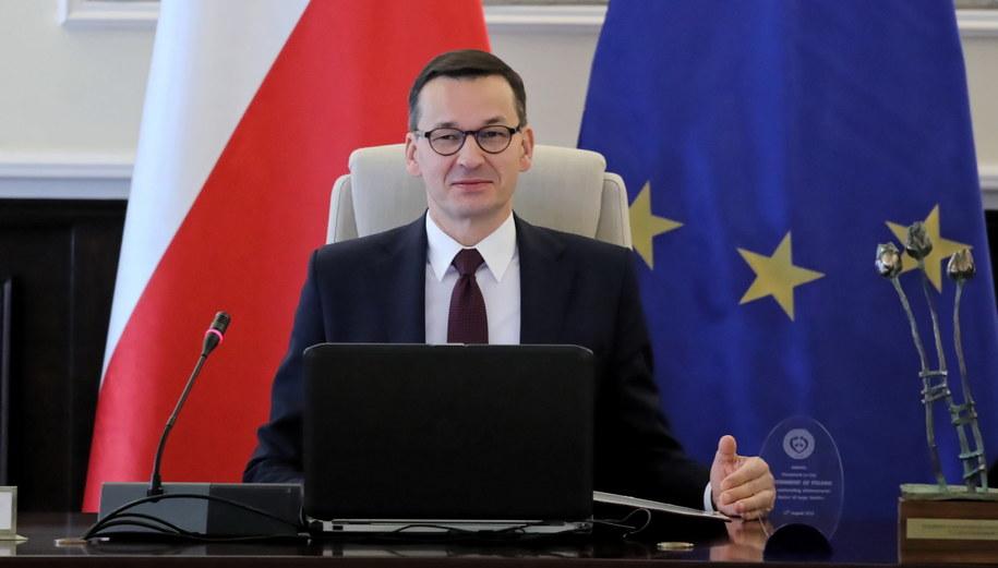 Premier Mateusz Morawiecki / Tomasz Gzell    /PAP