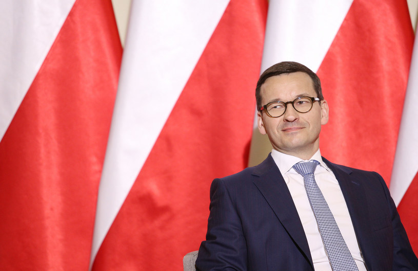 Premier Mateusz Morawiecki /Damian Klamka/East News /East News