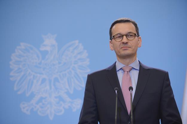 Premier Mateusz Morawiecki /PAP