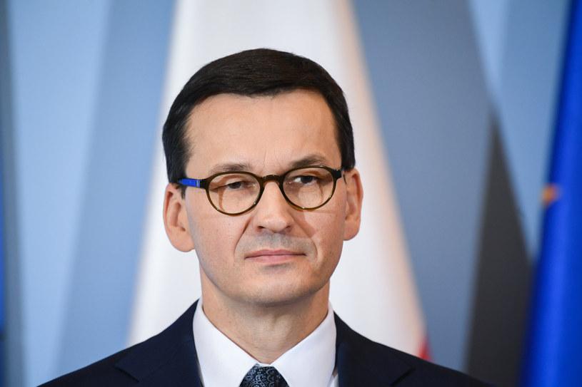 Premier Mateusz Morawiecki /Jacek Dominski/ /Reporter