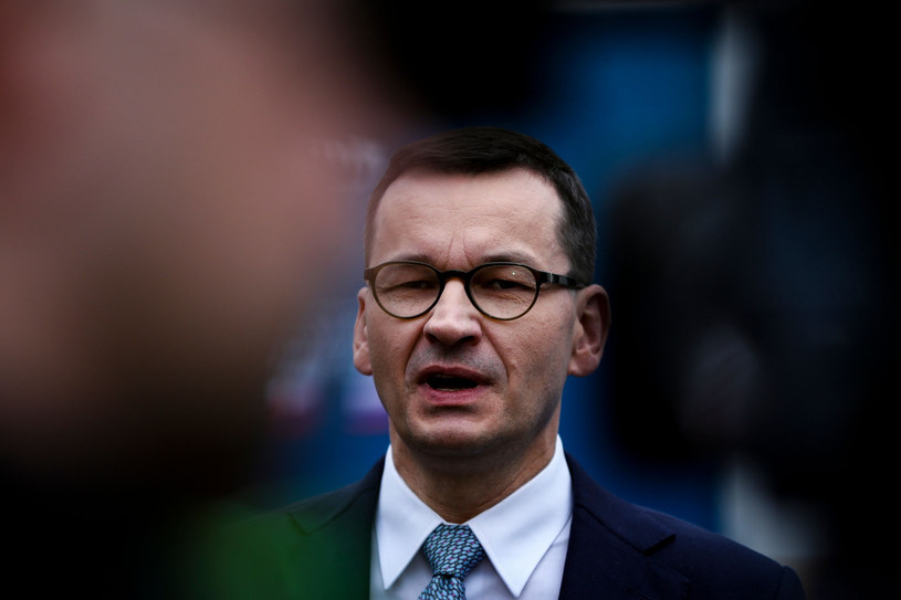 Premier Mateusz Morawiecki /CARLOS COSTA/AFP /East News