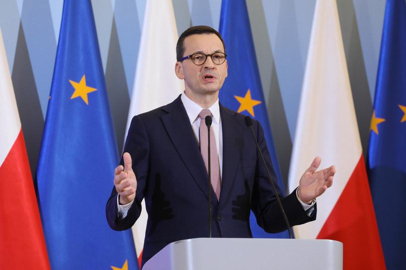 Premier Mateusz Morawiecki / Jakub Kamiński    /East News