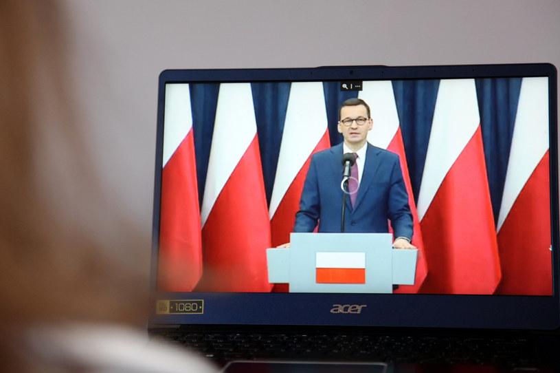 Premier Mateusz Morawiecki /Anna Golaszewska /East News