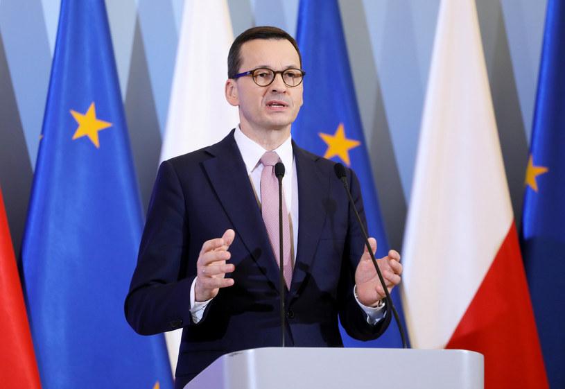 Premier Mateusz Morawiecki /fot. Jakub Kamiński /East News