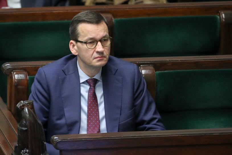 Premier Mateusz Morawiecki /fot. Andrzej Iwanczuk /Reporter