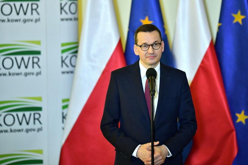 Premier Mateusz Morawiecki /Sebastian Borowski /PAP