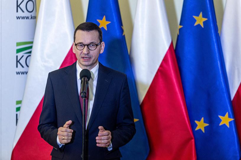 Premier Mateusz Morawiecki /Krzysztof Kaniewski/REPORTER /Reporter