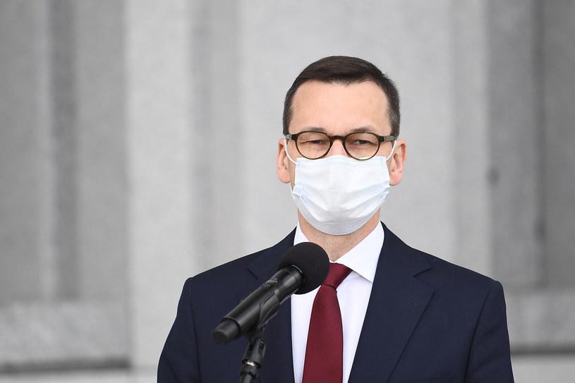 Premier Mateusz Morawiecki /Mateusz Jagielski /East News