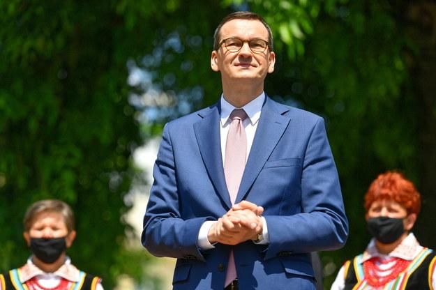 Premier Mateusz Morawiecki /Wojtek Jargiło /PAP