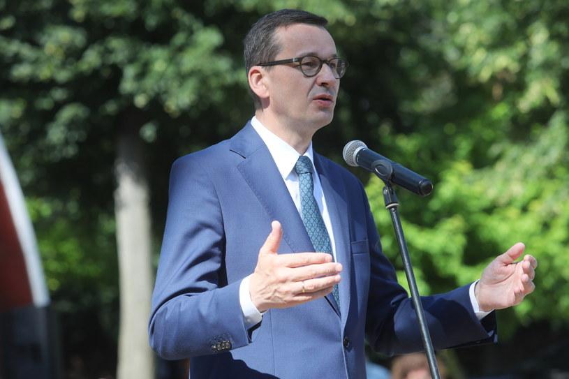 Premier Mateusz Morawiecki / Artur Reszko    /PAP